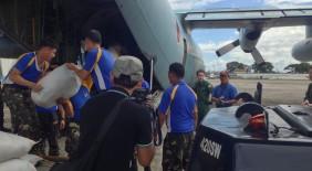 日本テレビ NEWS ZERO 【自衛隊・台風30号の被災地へ援助物資の空輸を開始】