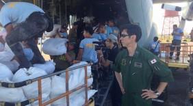 日本テレビ Oha!4 NEWS LIVE 【自衛隊 台風30号の被災地へ援助物資の空輸を開始】